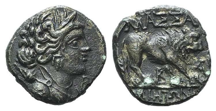 Gaul, Massalia, c. 121-82 BC. AR ...