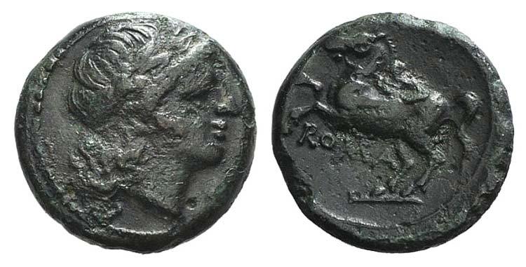 Anonymous, Rome, c. 235 BC. Æ ...