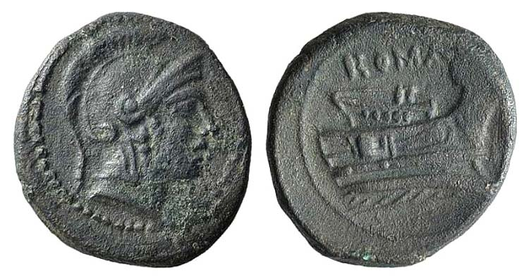Anonymous, Rome, 217-215 BC. Æ ...