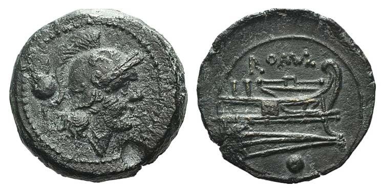 Anonymous, Rome, c. 215-212 BC. Æ ...