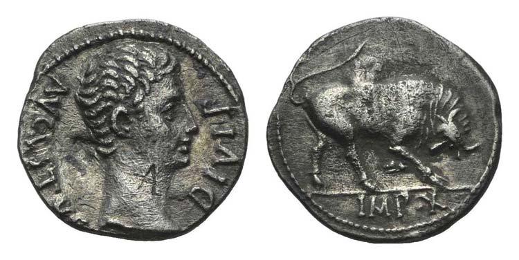 Augustus (27 BC-AD 14). AR ...