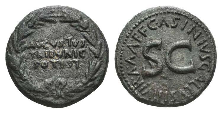 Augustus (27 BC-AD 14). Æ ...