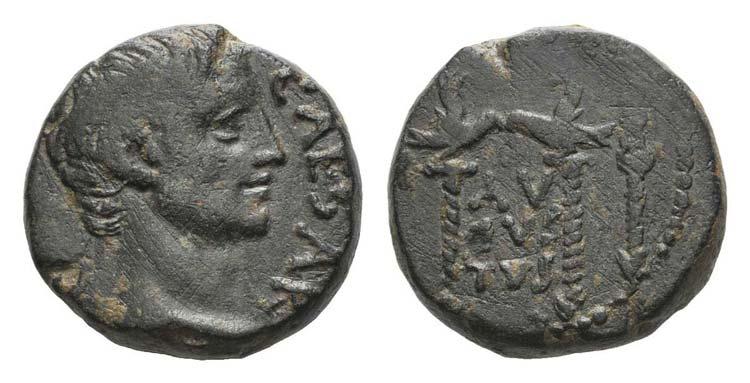Augustus (27 BC-AD 14). Pisidia, ...