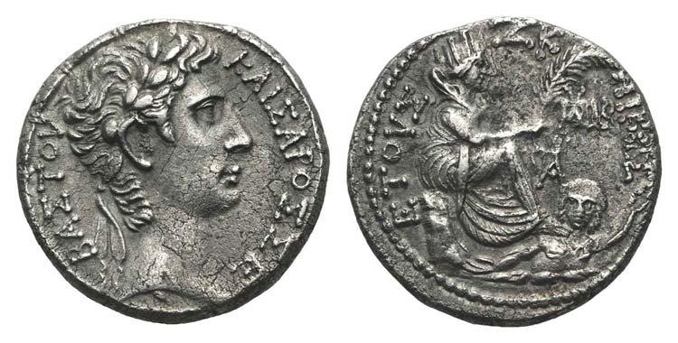 Augustus (27 BC-AD 14). Seleucis ...