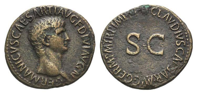 Germanicus (died AD 19). Æ As ...
