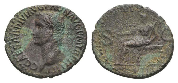 Gaius (Caligula, 37-41). Æ As ...