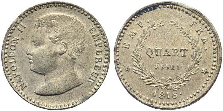 FRANCIA - Napoleone II (1815-1816) ...