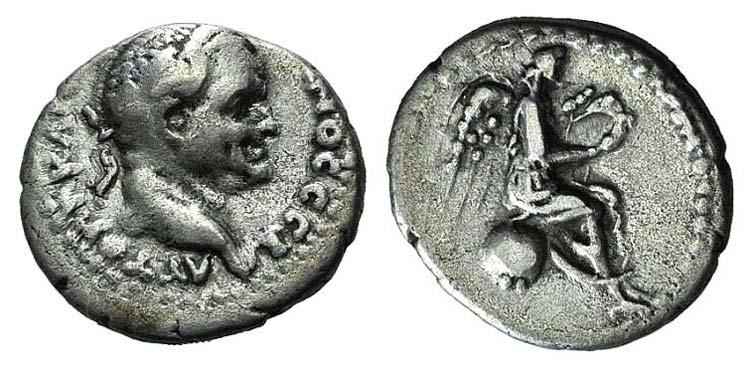 Vespasian (69-79). Cappadocia, ...