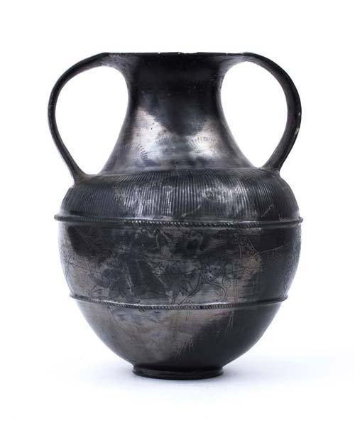 Outstandig Etruscan Bucchero ...