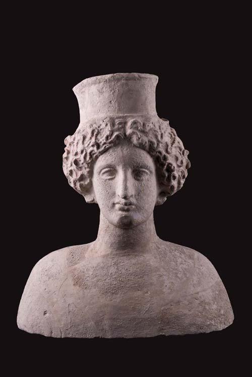 Votive bust of goddessMagna ...