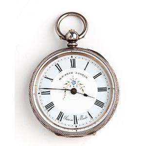 Orologio da tasca in argento ...