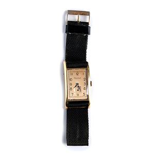 An 18K yellow gold Wristwatch, by ...
