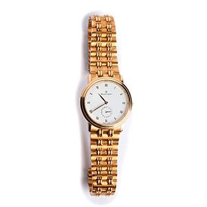 An 18K gold Ladies Wristwatch, by  ...