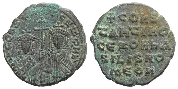 Constantine VII and Zoe (913-959). ...
