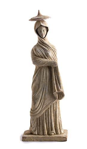 Tanagrina con tholia Magna ...
