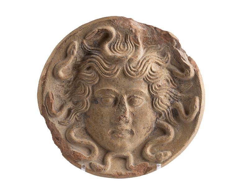 Antefissa con Gorgoneion Magna ...