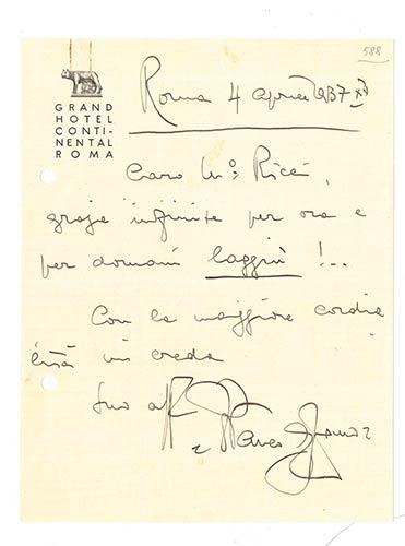 FRANCO ALFANONapoli 1875 - Sanremo ...