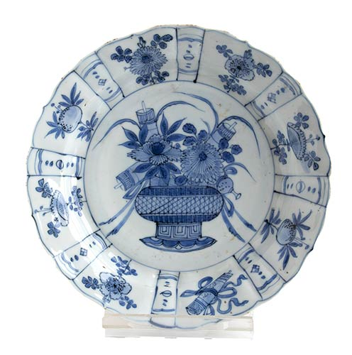 A BLUE-AND-WHITE KRAAK PORCELAIN ...