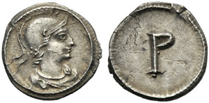 Anonima, Mezza Siliqua, Costantinopoli, dopo ...