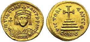 Tiberio II Costantino (578-582), Solido, ...