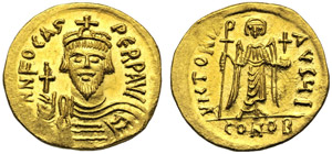 Foca (602-610), Solido, Costantinopoli, ...