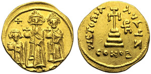 Eraclio con Eraclio Costantino e Eraclonas ...