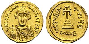 Costante II (641-668), Solido, ...