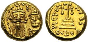 Costante II (641-668), Solido globulare, ...