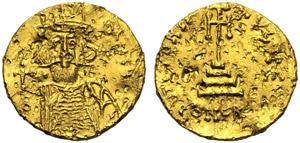 Mezenzio (668-669), Solido, Siracusa, AD ...