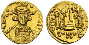 Costantino IV con Eraclio e ...