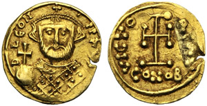 Leonzio (695-698), Tremisse, Napoli (?), c. ...