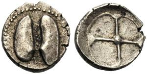 Sicilia, Litra, Himera (?), c. 480-450 a.C.; ...