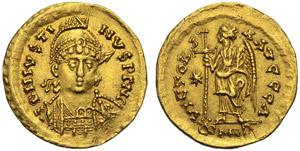 Ostrogoti, Atalarico (526-534), Solido a ...