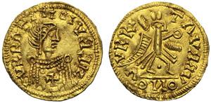 Visigoti, Leovigild (568-586), Tremisse, ...