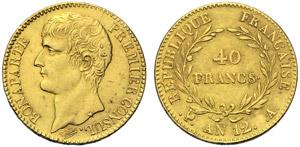 Francia, Napoleone Console (1799-1804), 40 ...