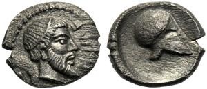 Sicilia, Litra, Himera, c. 470-450 a.C.; AR ...