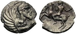 Sicilia, Litra, Himera, c. 450-420 a.C.; AR ...