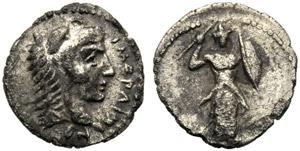 Sicilia, Litra, Himera, c. 420-410 a.C.; AR ...