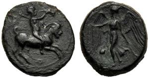 Sicilia, Oncia, Himera, c. 420-409 a.C.; AE ...