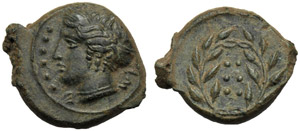 Sicilia, Emilitra, Himera, c. 420-409 a.C.; ...