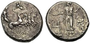 Sicilia, Tetradramma, Himera, Prima del 405 ...