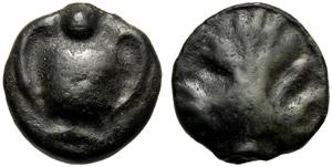 Sicilia, Oncia, Selinunte, c. 450-440 a.C.; ...