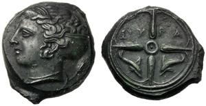 Sicilia, Dionigi I (406-367), Emilitra, ...