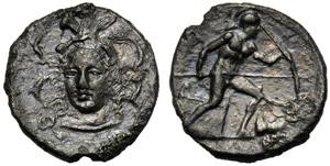Sicilia, Dionigi I (406-367), Dracma, Conio ...