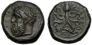 Sicilia, Dione (357-354), Emilitra, ...