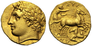 Sicilia, Agatocle (317-289), 50 litre o ...