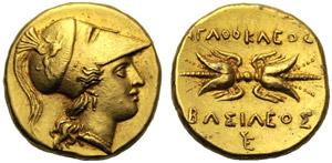 Sicilia, Agatocle (317-289), Statere o ...