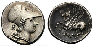 Sicilia, Agatocle (317-289), Statere, ...