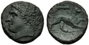 Sicilia, Agatocle (317-289) Bronzo, ...