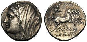 Sicilia, Filistide, moglie di Ierone II ...